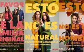 La Casa de las Flores 2 lanza nuevos pósters ironizando las campañas en contra del matrimonio igualitario